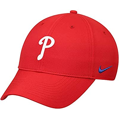 Nike Men's Philadelphia Phillies Dri-Fit Legacy91 Performance MLB Adjustable Hat - Red (One Size Fits Most)