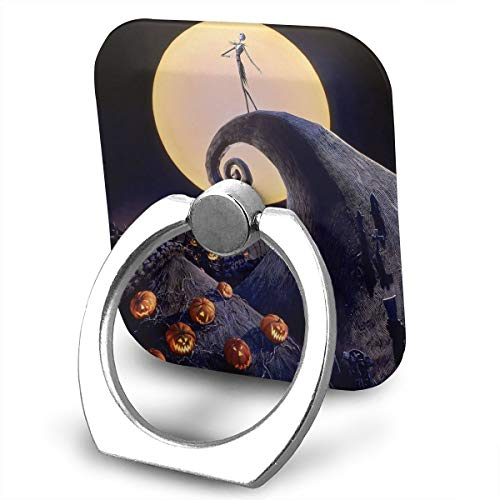 The Nightmare Before Christmas Accessories (FISHISOK The Nightmare Before Christmas Cell Phone Ring Holder, 360 Degrees Rotation, Finger Grip Stand Holder,Compatible with iPhone,Samsung,Phone)