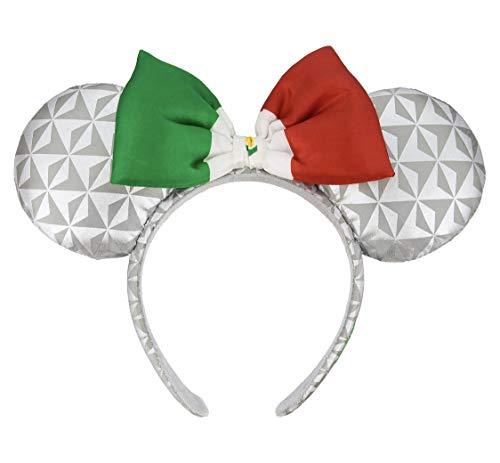 (Disney Parks Epcot Mexico Spaceship Earth Mickey Mouse Ears Headband)