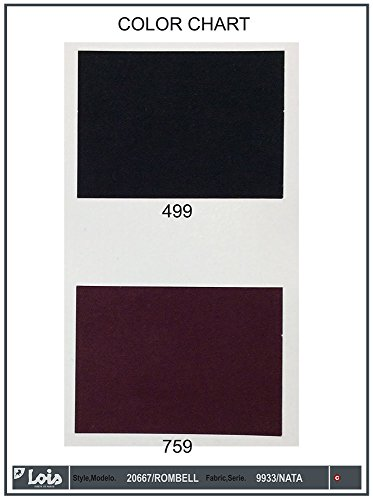 LOIS - Pantalon Rombel Nata, Mujer, Color Negro, Talla 31