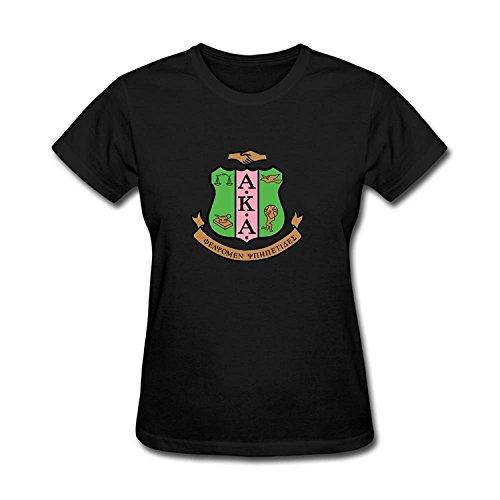 JXK Women's Alpha Kappa Alpha Logo AKA T-shirt Size XXL ColorName