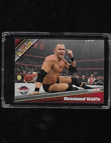- Desmond Wolfe (Nigel McGuinness) 2010 Tristar TNA The New Era Impact Wrestling Debut Rookie Card # 20 - Stored in a Protective Plastic Display Case!!