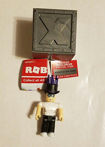 ROBLOX Series 1 Firebrand1 action Figure mystery box + Virtual Item Code 2.5