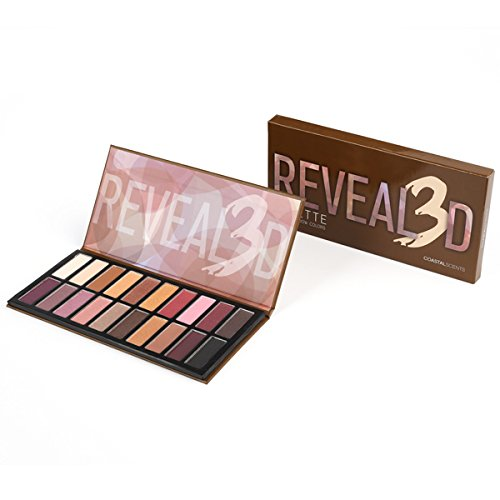 Coastal Scents Revealed 3 Eye Shadow Palette (PL-038)