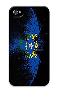 IMARTCASE iPhone 4S Case, Eagles Hawk Flags Usa Nevada State PC Hard Plastic Case for Apple iPhone 4S and iPhone 4