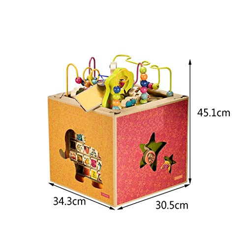 LIUFS-TOY Toys Around Treasure Box Children Beaded Toy Intelligence Tetrahedral Gift ( Color : Multi-Colored ) by LIUFS-TOY (Image #5)