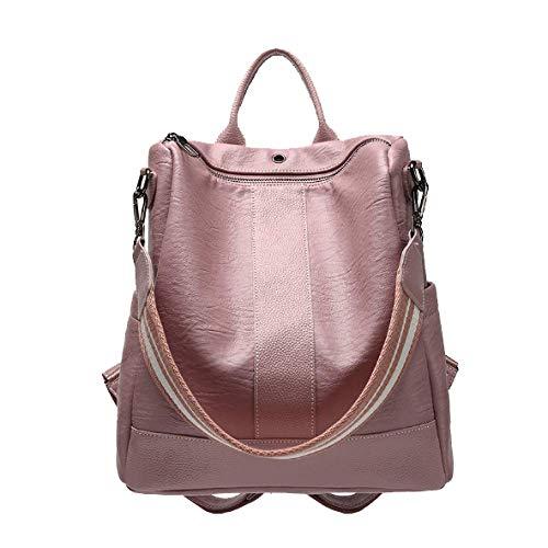 Daypack De Bolso Las Mochila XZWNB Mochila Hombro Mochila Pink Ligero Mochila Bolsos De Seoras qana1w6Zx
