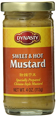 Dynasty Sweet & Hot Mustard, 4-Ounce (Pack of (Dynasty Sweet)