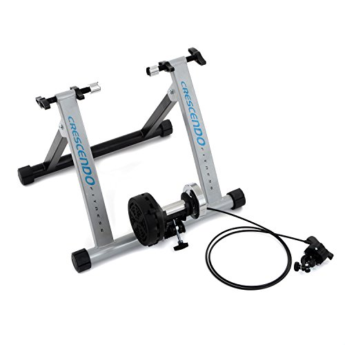 Crescendo Fitness Indoor Bike Trainer with 5 Levels Resistance
