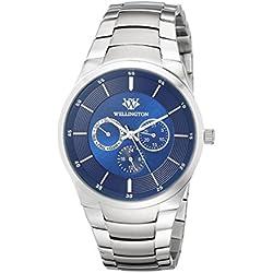 WELLINGTON Men's WN601-131 Analog Display Quartz Silver Watch