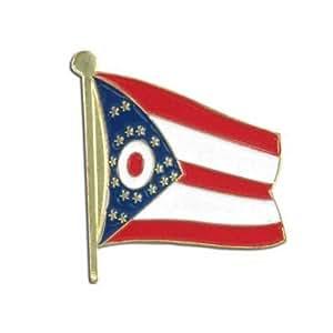 US Flag Store Ohio Flag Lapel Pin