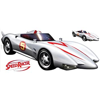 Roommates rmk1146gm speed racer mach 5 peel stick giant wall decal