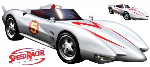 (RoomMates RMK1146GM Speed Racer Mach 5 Peel & Stick Giant Wall Decal)