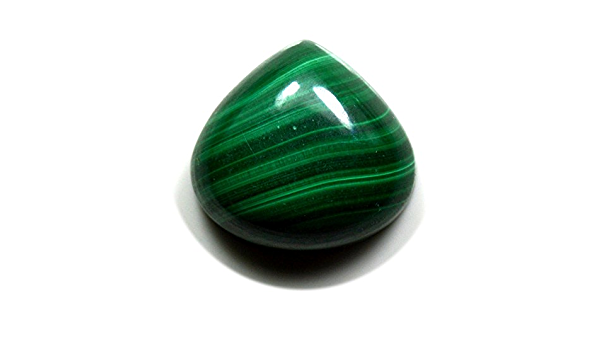 Beautiful Chakra For Making Jewelry 111Cts 51x35x5mm Immaculate Top Grade 100/% Natural Malachite Pear Shape Cabochon Loose Gemstone