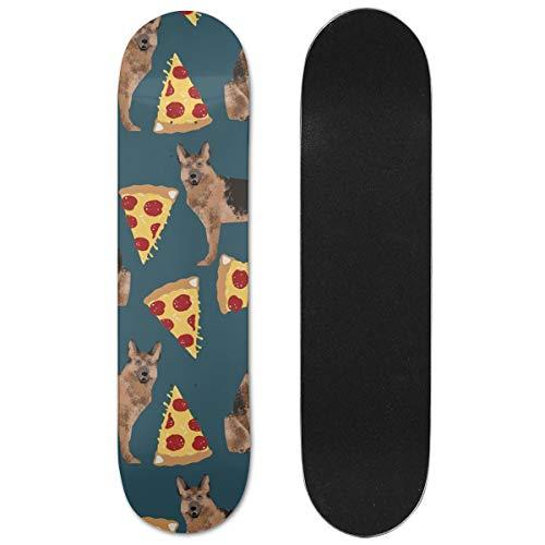 DAPANLA Maple Wood Double Kick Skateboard Deck for