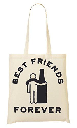 CP Beer Is Best Friend Bolso De Mano Bolsa De La Compra