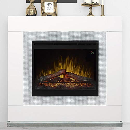(DIMPLEX Lukas Electric Fireplace Mantel with 26