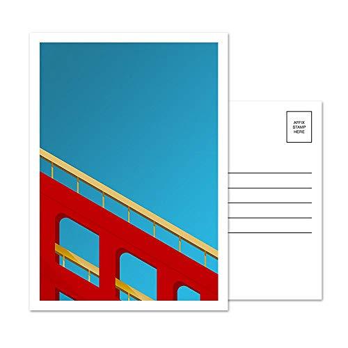 Candlestick Park - San Francisco Giants - Minimalist Art Postcard Set (5 Card Set)