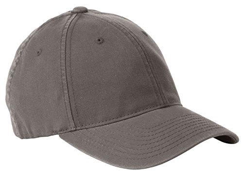 Yupoong Flexfit Garment Washed 6-Panel Cotton Twill Cap, STONE, Large / X-Large