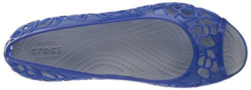 Blue Isabella Jelly Women's Crocs Jean Flat zIq7wxC