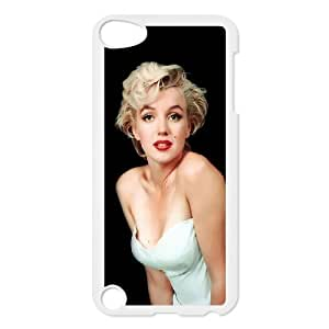 HXYHTY Customized Print Marilyn Monroe Pattern Hard Case for iPod Touch 5