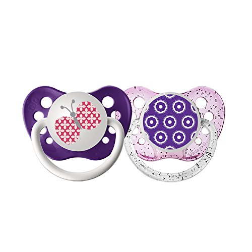 Pacifiers - Ulubulu - Butterfly & Flowers 6-18M New