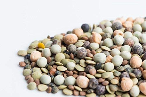 Sprouting Seeds Rainbow Bean Mix (Contains: Adzuki, Garbanzo, Green Pea, Lentil)- 40+ Premium Heirloom Seeds - ON Sale! - (Isla's Garden Seeds) - Non GMO - 92% Germination - Total Quality! ()