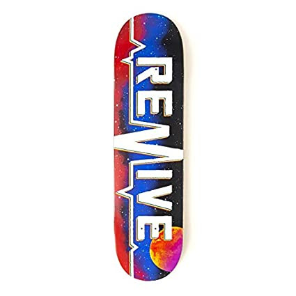 35bf7bf9 Amazon.com : Revive Space Lifeline 2.0 Skateboard Deck (7.75 ...