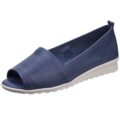 Denim Blue D'open Womens Flexx Vacchetta toe Fantastique Sandales The 8R0qOO