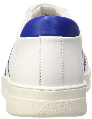 Bounce shoe Uomo bianco In Bianco Pelle M 588 Pumps Blu L Bluette Bikkembergs Flatform RUdCxwqw