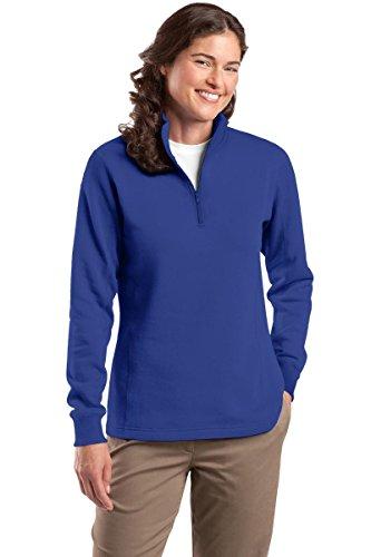 Blue 1/4 Zip Sweatshirt - 1
