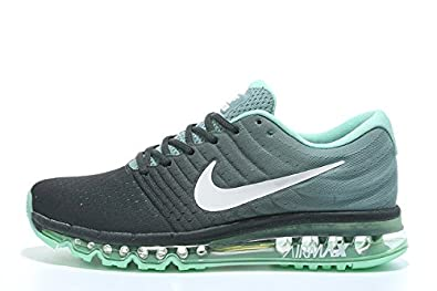 great quality arriving best sell Air Max 2017 Men Running Imported Black Green Sports Shoes ...