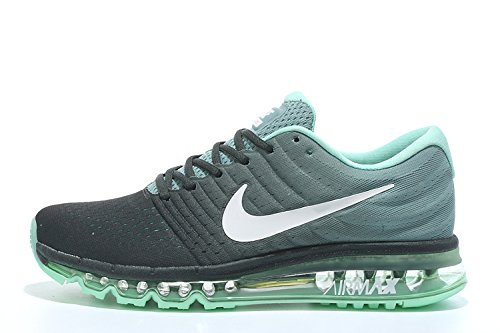 aa1b81eaf5 Air Max 2017 Men Running Imported Black Green Sports Shoes: Buy Online at  Low Prices in India - Amazon.in