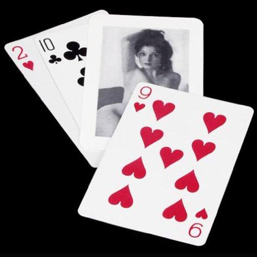 Monte de tres cartas X - Juego de Magia