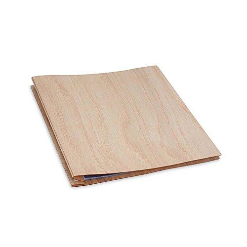 Pina Zangaro Woodland 11x8.5 Express Screwpost Book, Oak