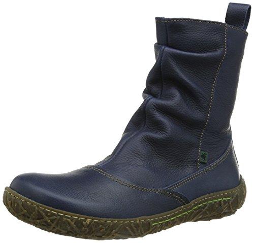El Naturalista Nw722 P.Grain Ocean/Nido, Boots femme Bleu