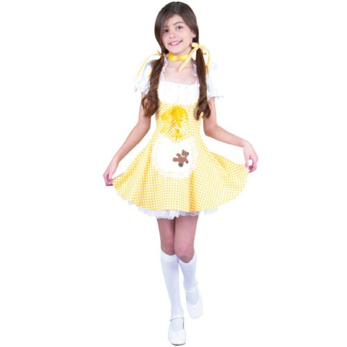 Goldee Locks (Goldilocks) Child Costume Size 8-10 Medium (Goldilocks Costumes For Kids)