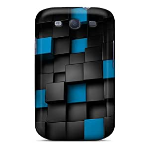 Tpu Cases For Galaxy S3 With 3d Cubes