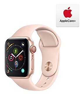 AppleWatch Series4 (GPS+Cellular, 40mm) - Gold Aluminum Case with Pink Sand Sport Band with AppleCare+ Bundle (B07RK4QL4J)   Amazon price tracker / tracking, Amazon price history charts, Amazon price watches, Amazon price drop alerts