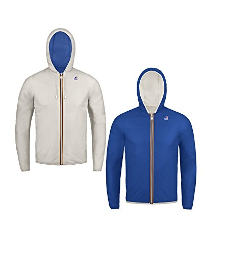 K-Way JACQUES PLUS DOUBLE GREY WARM-BLU ROYAL