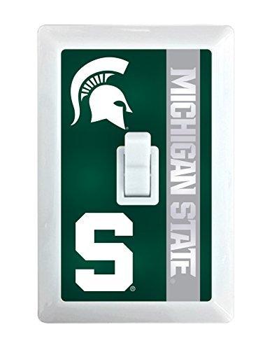 Michigan State Spartans LED Light switch