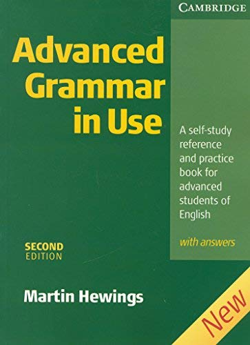 Advanced Grammar in Use with Answers by Martin Hewings 2005-03-21 ...