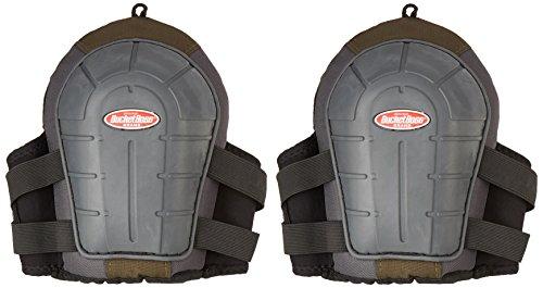 Rubber Non Skid Knee Pads (Bucket Boss 720092 2 Airgel Gel Foam Knee Pads)
