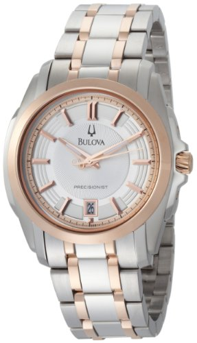 Bulova Men's 98B141 Precisionist Longwood Two-Tone Bracelet Watch