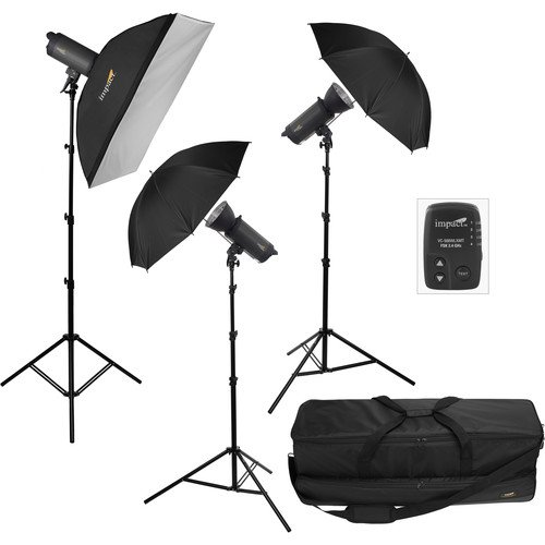 500 Monolight (Impact VC-500WLN 3-500Ws Digital Monolight with Transmitter Kit)