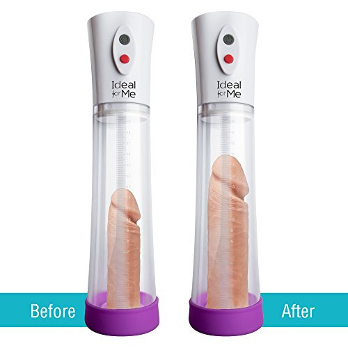 Electric Men's High-Vacuum Penis Enlargement Pump Air Pressure Setting Device With 2 Extra Sleeves, USB Rechargeable, Increase the Size and Strength