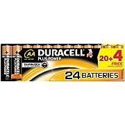 Duracell DUR018426 Plus Power AA Batterien (24 Stück)
