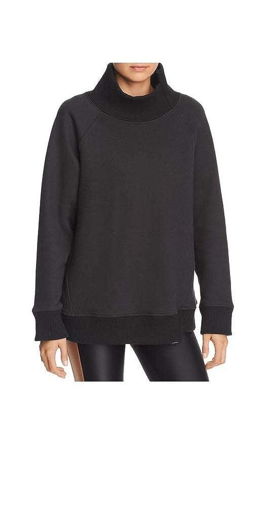 Image of Active Sweatshirts Koral Women's Lucid Oversized Sweatshirt in Black Size Large