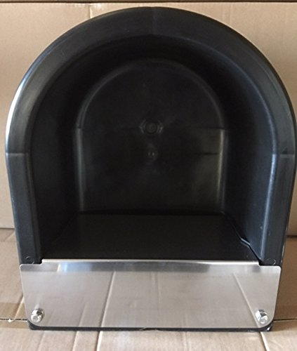 Extra Large Black Automatic Stock Waterer by rabbitnipples.com