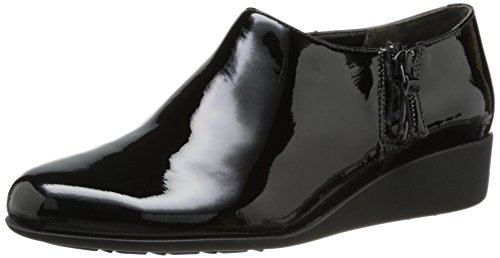 Cole Haan Women's Callie Slip-On Waterproof Rain Shoe, Black WP Patent, 8.5 B US by Cole Haan